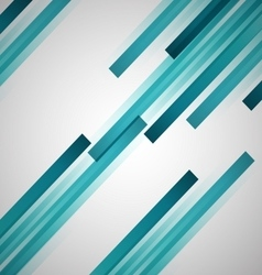 Abstract background with green straight lines vector image vector image
