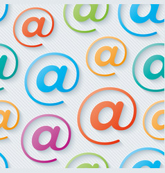 Colorful e-mail wallpaper vector