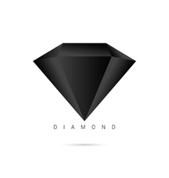 Diamond brilliant shiny icon object vector