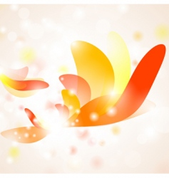 hot abstraction vector image vector image