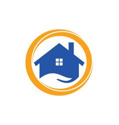 House icon business logo vector