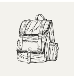 It is a of backpack vector
