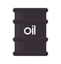 oil bottle gallon icon graphic vector image