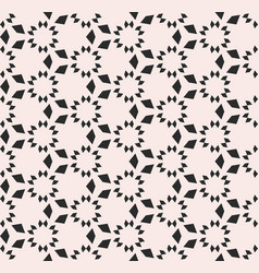 ornamental texture floral tile seamless pattern vector image