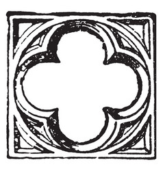Quatrefoil opening of the cosmic central axis vector