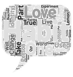 The habit of identity text background wordcloud vector