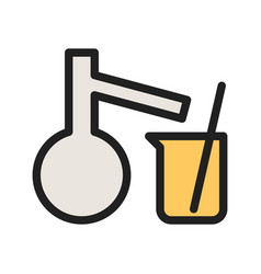 Mixing chemicals i vector