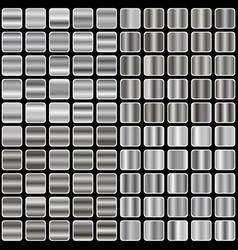 silver gradient vector image