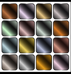 Metal gradients vector