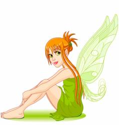 Young fairy vector