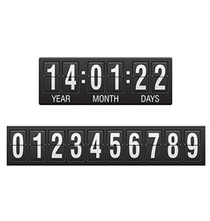 Countdown timer 02 vector