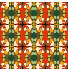 Abstract retro squares background vector image vector image