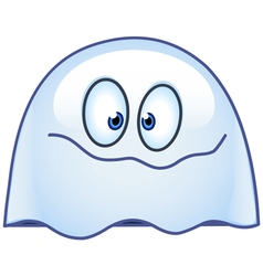 Ghost emoticon vector