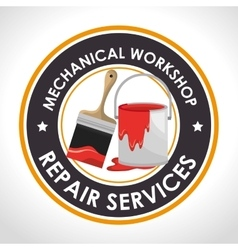 Repair service design vector