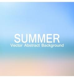 Abstract background ocean beach vector