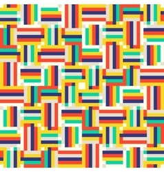 Digital colorful pattern vector