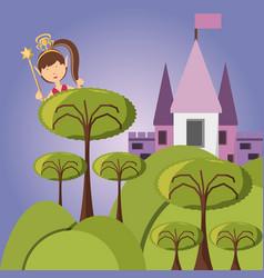 fairytale concept design vector image