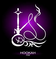 Hookah picture vector