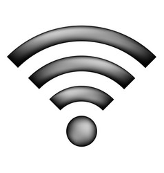 Wi-fi icon sign vector