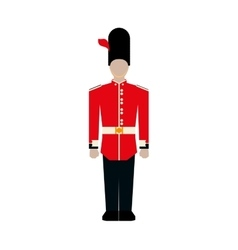 Soldier icon united kingdom design vector
