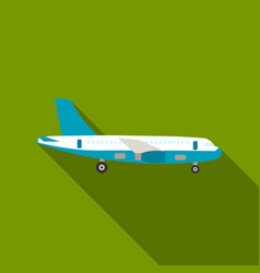 Airplane icon of for web and vector