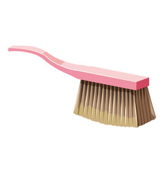 brush for cleaning icon cartoon style vector image vector image