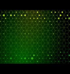 dark green medical geometric pattern vector image