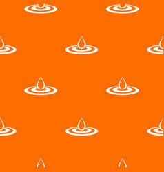 Water drop and spill pattern seamless vector