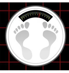 weigh machine vector image