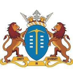Gauteng Province CoA vector image