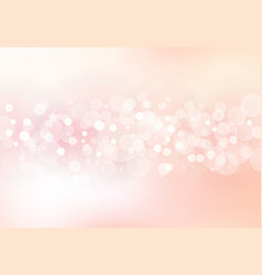 abstract blurred soft focus bokeh of bright pink vector image vector image