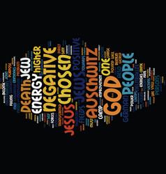 Auschwitz death camp text background word cloud vector
