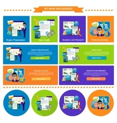 Concept Business Strategy Analytics and Research vector image