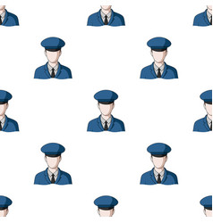 postmanmail and postman pattern icon in cartoon vector image