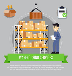 Warehouse services composition vector
