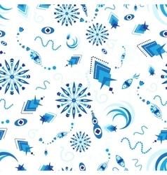 Plankton seamless pattern vector