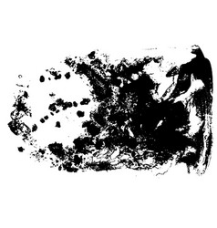 Black and white grunge texture watercolor hand vector