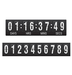 Countdown timer 03 vector