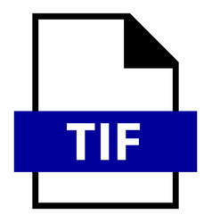 File name extension tif type vector
