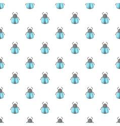 Fly pattern cartoon style vector