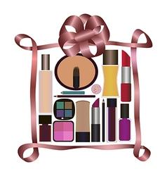 Perfumes and cosmetics vector image