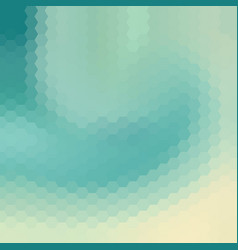 Sky blue swirl polygonal background vector