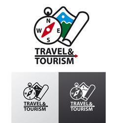 Logo for tourism vector