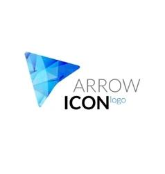 arrow logo icon Business arrow concept vector image vector image