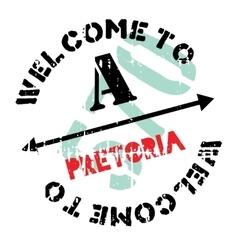 Pretoria stamp rubber grunge vector