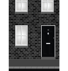 Residential House vector image