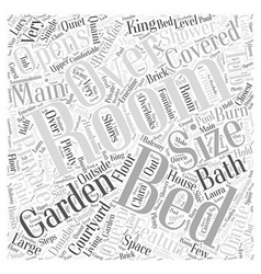 The burn word cloud concept vector
