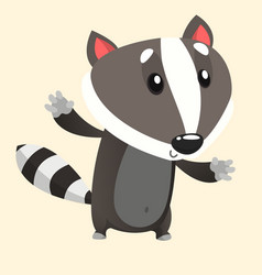 277badger vector image