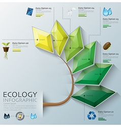 Leaf shape three dimension polygon ecology and vector