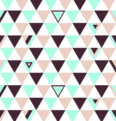 Netherlands Top Colors Background Triangle Polygon vector image vector image